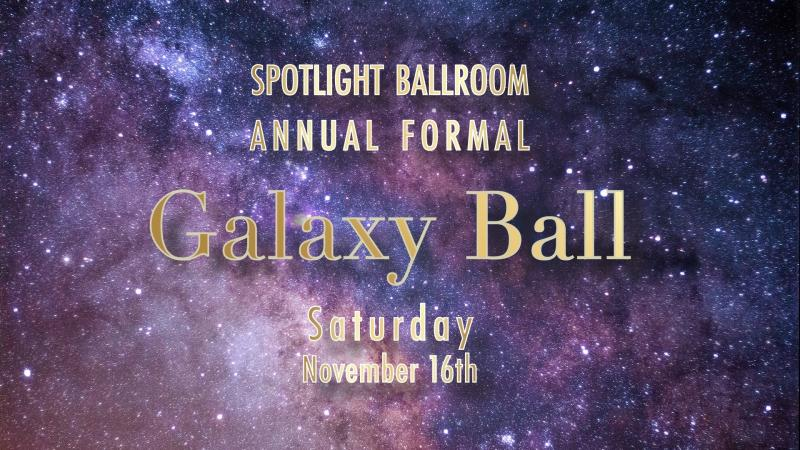 A promotional graphic for the ball.